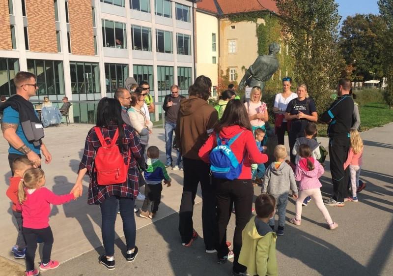 Enota Mehurček: Orientacijski pohod po gozdni poti (Trim steza – mestni park)
