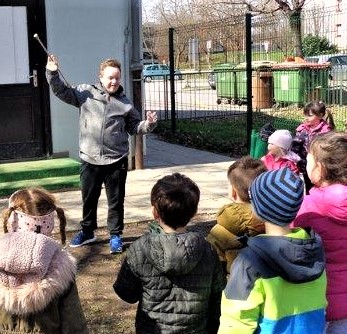 Obisk učencev OŠ Glazija