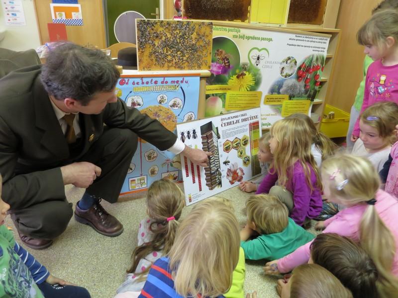 Enota Živ žav: Obisk čebelarja